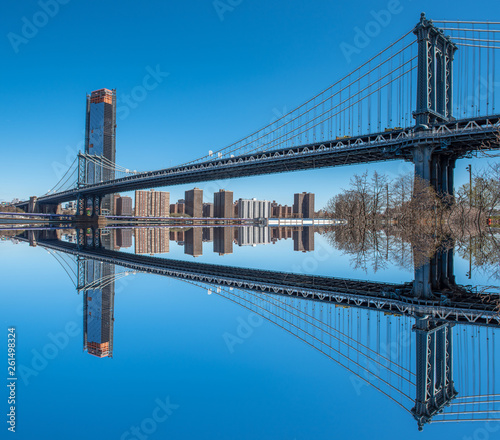 fototapeta na ścianę Manhattan Brigde