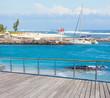 Esplanade des Roches Noires et plage des Brisants, Réunion