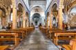 canvas print picture - Kirche, Italien