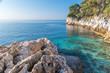 canvas print picture - baie de Villefranche sur Mer