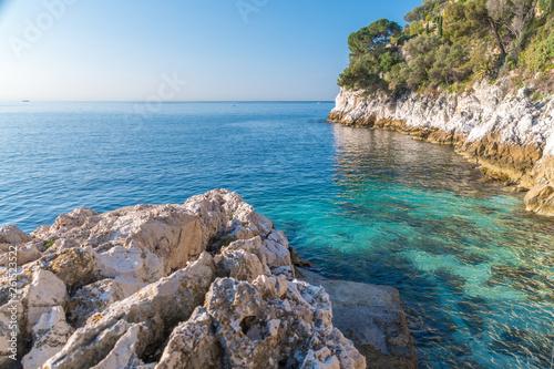 canvas print picture baie de Villefranche sur Mer