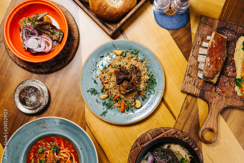 Eastern cuisine, plov - 261529123