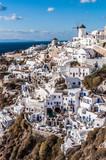 oia village in santorini greece