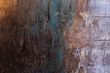 canvas print picture - old destroyed plywood sheet closeup surface texture