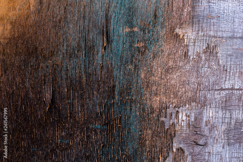 canvas print picture old destroyed plywood sheet closeup surface texture
