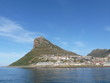 canvas print picture - Berg bei Hout Bay
