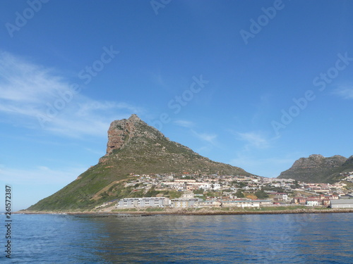 canvas print picture Berg bei Hout Bay
