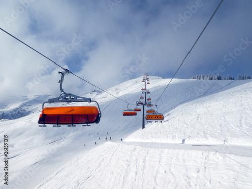 Skifahren in Saalbach Hinterglemm Leogang - 261591319