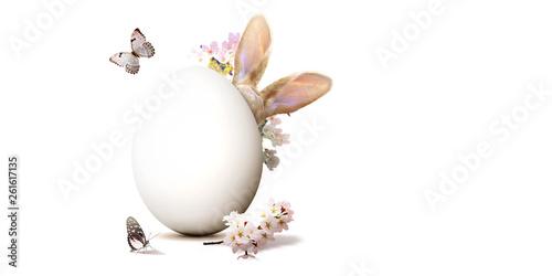 Ostern Kollage mit Osterhase