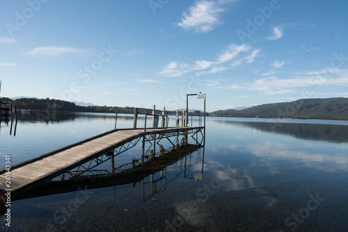 Acrylglas Pier テ・アナウ湖