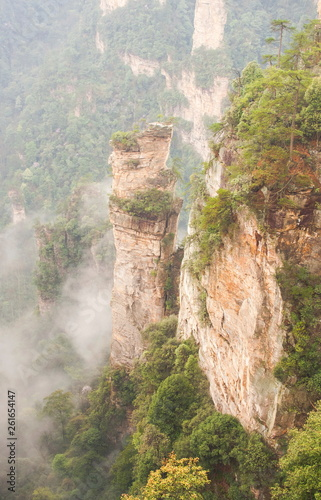Zhangjiajie National Park, China. Avatar mountains - 261654147
