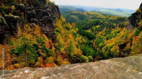 canvas print picture Sächsische Schweiz 5