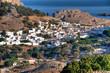 Die griechische Insel Rhodos im Sommer