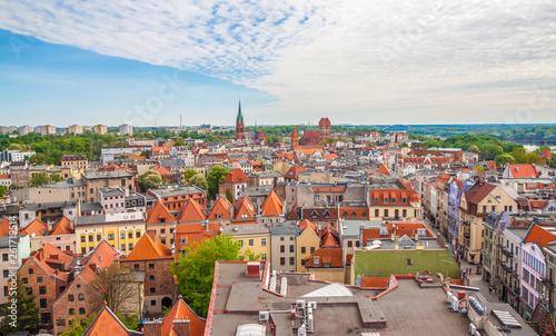 Old town of Torun. Poland  - 261719514