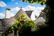 Alberobello - Trullo con terrazzo fiorito