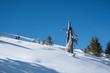 canvas print picture - Jungfrauregion im Winter