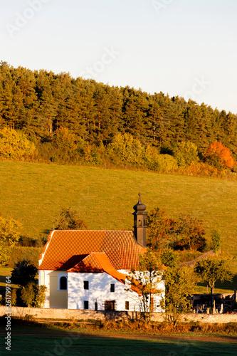 church near Rabi, Sumava. Czech Republic