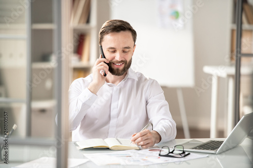 Communicating on the phone