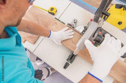 Caucasian Flooring Contractor - 261811556