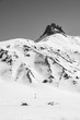 canvas print picture - Snow Mountain