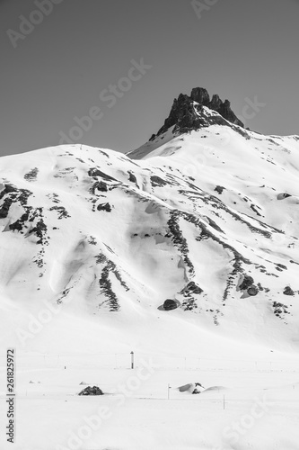 canvas print picture Snow Mountain
