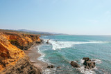 Beautiful coastline along California State Route 1 at the US West Coast.USA