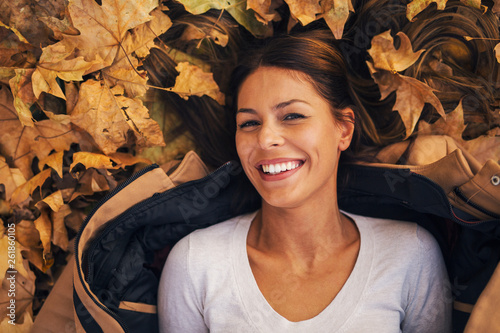 Autumn portrait of girl © Jelena
