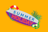 Tropical summer promotion