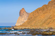 Quadro Stunning views of the incredibly beautiful Benijo beach in the north of Tenerife. Canary Islands..Spain