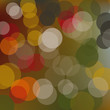 vector background with circles