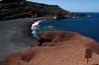 canvas print picture - Lanzarote El Golfo