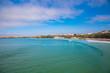 canvas print picture - Surfer Paradies in Cornwall mit wunderschönem smaragdgrünen Wasser