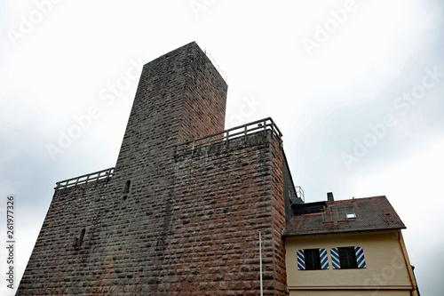 canvas print picture Burg Liebenzell