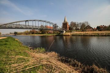 Elbe-Lübeck-Kanal in Berkenthin