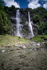 Acquafraggia Wasserfall -Piuro Sondrio, Italien