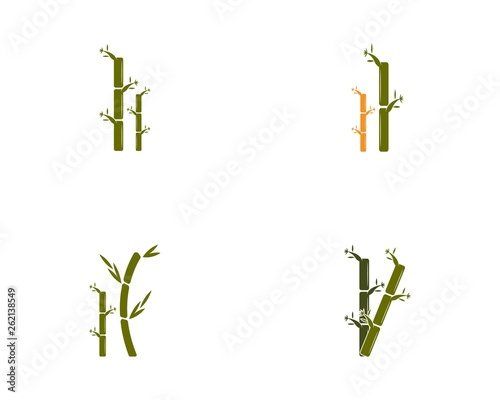 Bamboo icon vector illustration