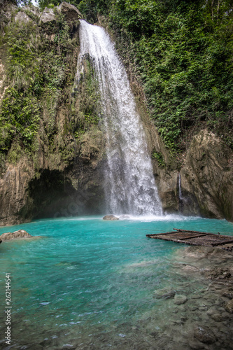 Waterfall in the Philippines - 262144541