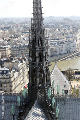 Notre Dame before the fire © joaco
