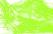 Leinwandbild Motiv white yellow green paint brush strokes background
