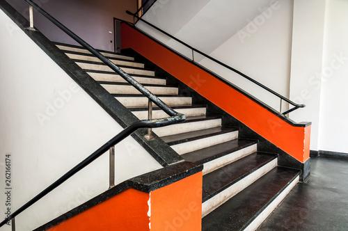 Treppenaufgang Bauhaus Dessau  © Stockfotos-MG