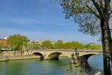 Pont sur la Seine. Paris