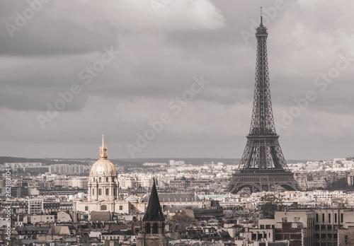 Parigi, francia, TourEiffel, Notre Dame, viaggio,  - 262182104