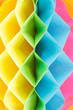 Colorful paper rhombus background