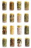 compilation of plastic carafes of pickles