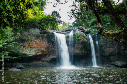 Heo Suwat Waterfall Khao Yai National Park Thailand  - 262204503