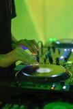 DJ Playing Electronic Music