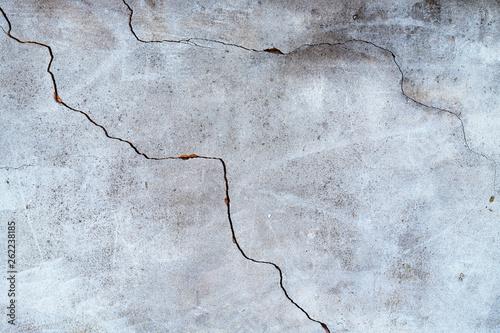 Leinwandbild Motiv Cracked concrete wall background