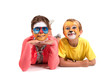 Quadro Kids with face-paint