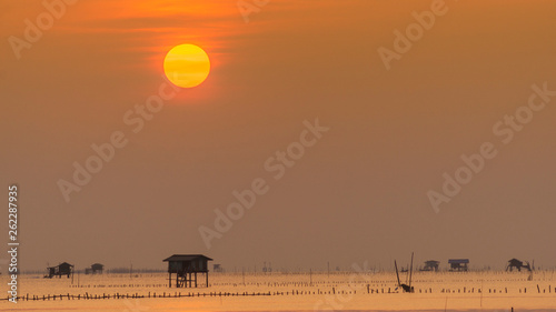 Sunrise at Bay Phetchaburi, Landscape