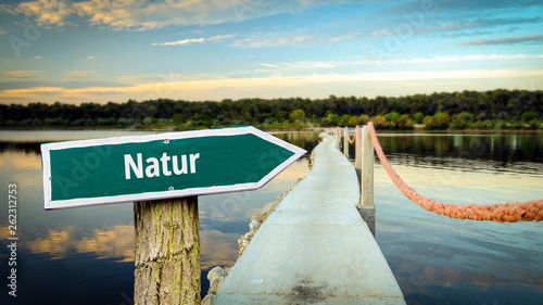 Schild 381 - Natur